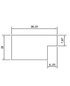 CHATA 30 X 20 (MI289)