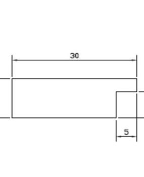 CHATA DE 30 X 12 (MI454)